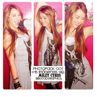 ~Miley Cyrus Photopack OO1. by bbgoodgraphics