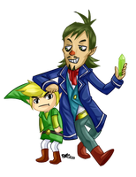 Link and Linebeck by ProSonic