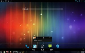 Android 4.1 Jelly Bean for Rainmeter - Home Screen by ScoobSTi