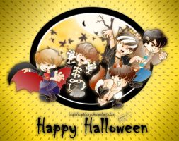 Have a SHINE Halloween by Pulimcartoon