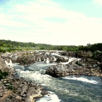 Great Falls Park by zigan-with-felines
