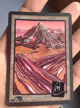 Altered Mountain signed by Original Artist by BlackBullo