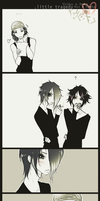 Kai x Uruha_little tragedy by KaZe-pOn