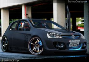 Volkswagen Golf Mk5 by DemoDesign