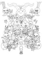 Binding of Isaac: Afterbirth [ALL BOSSES] WIP by jaego17