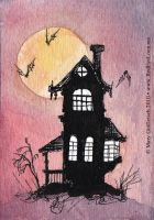 The Haunted House 01 by RedEyeLoon