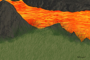 Lava stream (Free chatland room) by strongpelt