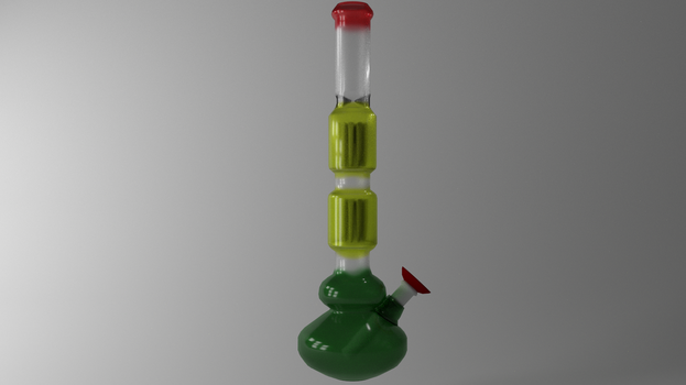 Perc bong (Commission) read description by Pathious