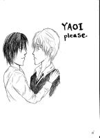 Yaoi please. by GreenSyndrome68