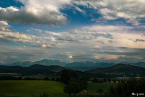 In love with mountains by margueta