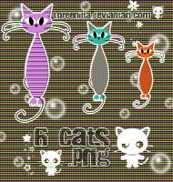 Cats .png by Loreenitta