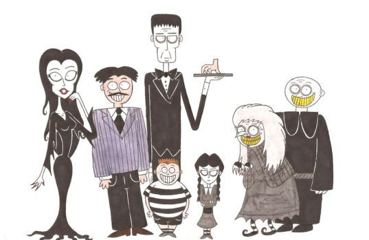 Welcome to the Addams Family by nerdsman567