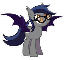 Echo the Bat Pony 1.1: Glasses Edition by Zee66