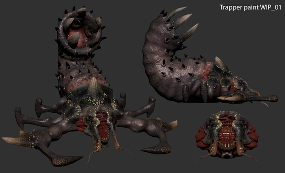 Trapper Zbrush Polypaint (Tremulous) by Dandoombuggy