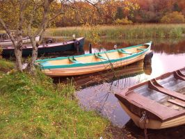 The Boats are gone! - where are they gone? by webcraftireland