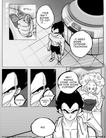 Dbz: Bulma and Vegeta -Firstkiss: Chapter 1, Pg2 by longlovevegeta
