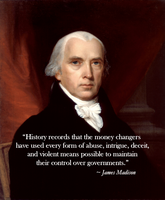 James Madison on Banks by poasterchild