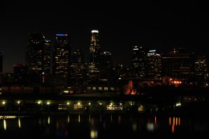 Good Night L.A. by AndySerrano