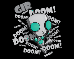 GIR DOOM 1280x1024 Background by Chaossity