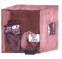 HOBO IN A BOX by Scaryme87