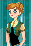Anna Frozen Fever by The-Honey-Bea