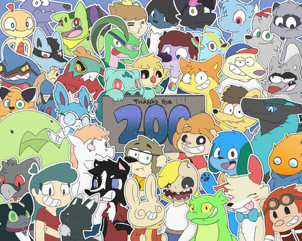 Thanks For 200!!!! by LeoTheLionel