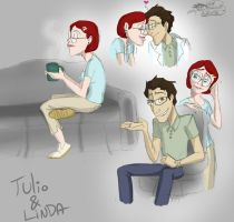 Rio - Tulio and Linda by candlehat