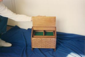 Chip carved Sewing Box 2 by JARM13