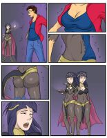 COM: Tharja Transformation by Diggerman
