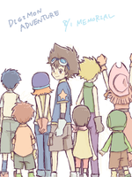 Digimon Adventure Memorial by Chibimixxx