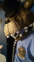 My FNAF Sicurity Guard Cosplay by ClayTOONS1994