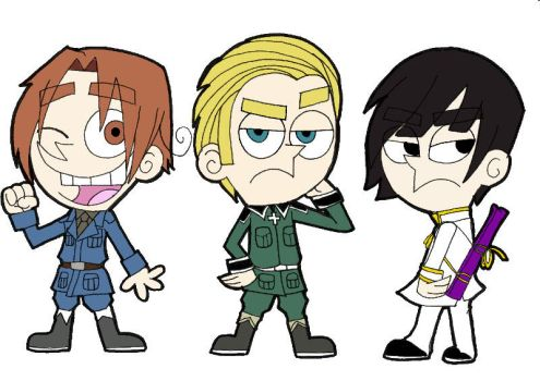 The Fairly Odd Axis Powers by Apple-Rings