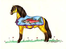 The Welsh Salmon by moonfeather