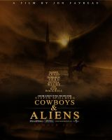 Cowboys And Aliens Poster by DGsWay