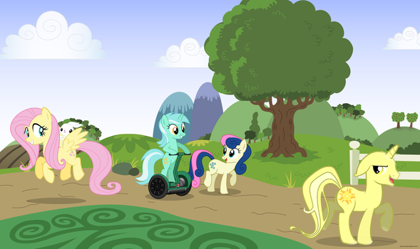 MLP FiM Group by suxgio