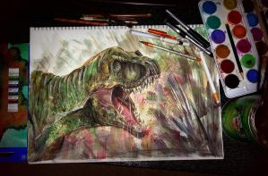 I love Dinosaurs by TamiTw