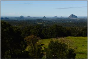 Glasshouse Mountains 1 by wildplaces