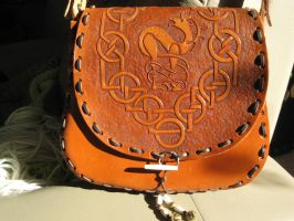 LEATHER BAG by AnitaBurnevik