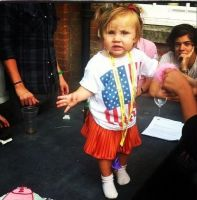 Lux at her birthday party by iluvlouis
