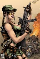 Tomb Raider Color by MARCIOABREU7