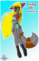 Request: Frisky the raccoon by MRSaeba-San