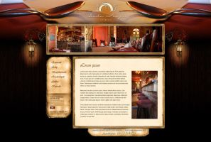Budai Kapu Restaurant website by VictoryDesign