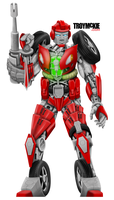 Transforming Robot Commision by thedream86
