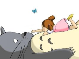 Dreaming of Totoro by Shoemaker