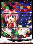 Sonic and Amy by minit