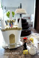 Super Mario Wedding Cake Part1 by Verusca