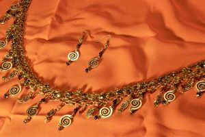 Spirals and Chain Rephotograph by JANunnoArt