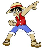 Luffy by bluepen731