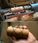 Woodworking - Classic wood turned celtic knot by JulioBN