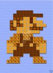 8-bit Block Mario updated by AvenPrincess